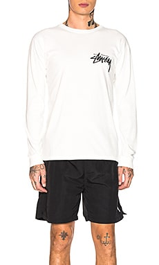 Stock Long Sleeve Tee Stussy $44