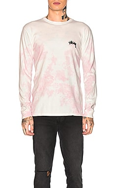 Small Stock Long Sleeve Tee Stussy $44