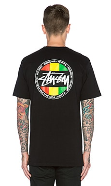 Stussy WT Dot Tee in Black