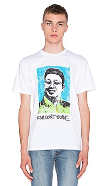 Stussy Kim Don't Surf Tee in White