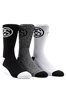 3-Pack SS Link Premium Socks