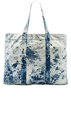 Acid Wash Beach Tote Bag
