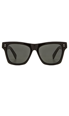 Stussy Norton Sunglasses in Black/Dark Grey