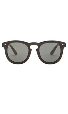 Stussy Luigi Sunglasses in Black & Dark Grey