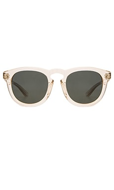 Stussy Luigi Sunglasses in Champagne/Dark Grey