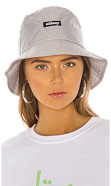 Langley Shiny Bucket Hat Stussy $24