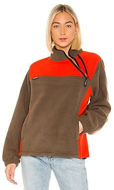Drift Diagonal Zip Pullover Stussy $115
