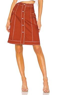 Clyde Reversible Skirt Stussy $46