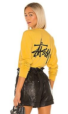 Basic Logo Long Sleeve Stussy $50