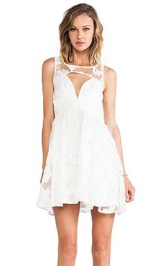 Style Stalker Prom Date Dress in Off White