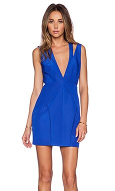 Style Stalker Charmed Dress in Electric Blue