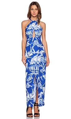 Style Stalker Blue Jasmine Maxi Dress in Blue Jasmine Maxi Dress