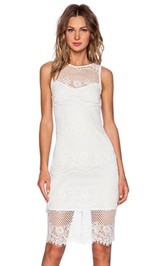 Style Stalker Elliot Bodycon Dress in Ivory