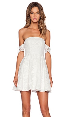 STYLESTALKER Perini Dress in White