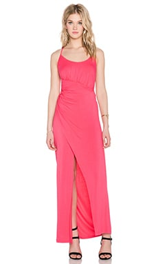 Style Stalker Fireside Maxi Dress in Berry