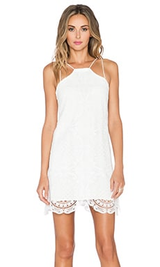 Style Stalker Hong Kong Shift Dress in White