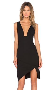 STYLESTALKER Muse Dress in Black