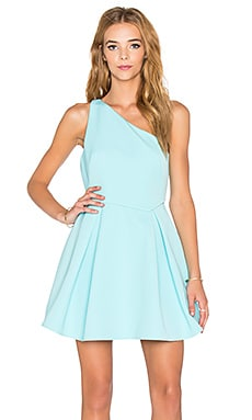 Style Stalker Silencio Dress in Cyan
