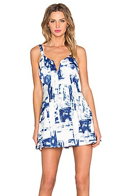 STYLESTALKER Dark Surf Dress in Dark Surf Print