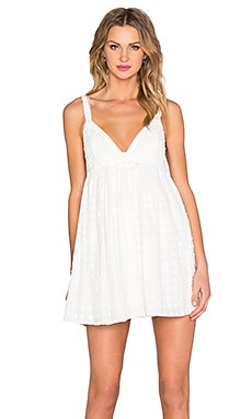 STYLESTALKER Pipeline Dress in Blanc