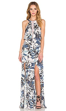 ROBE MAXI HAWAIIAN SUNSET