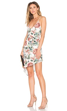 Flora Slip Dress in Flora Print