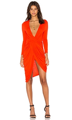 Harlem Dress in Persimmon
