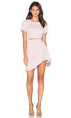 Thea Dress in Barely Pink