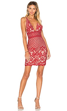 Lani Dress in Earth Red
