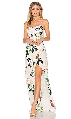 Angeles Maxi Dress in Garden Floral