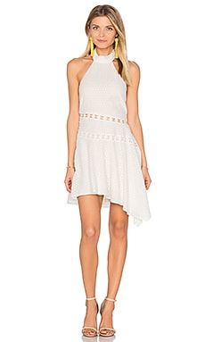 Ava Mini Dress in Blanc