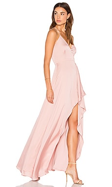 Avianna Maxi Dress in Dusty Pink