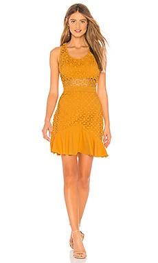 Купить Платье solana - STYLESTALKER желтого цвета