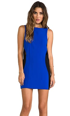 Where the Party At Dress en Bleu