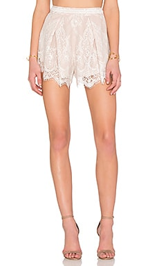 Style Stalker Island of Love Short in Blanc