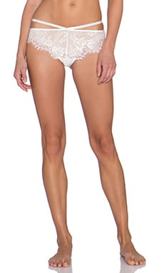 Style Stalker Safia Brief in White