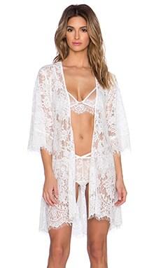 Style Stalker Olivia Robe in White