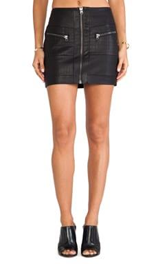 Style Stalker Streets of Fire Mini Skirt on Black