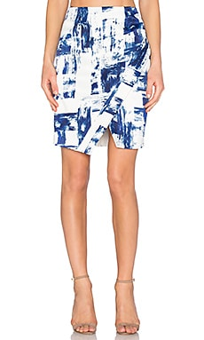 STYLESTALKER Dark Surf Skirt in Dark Surf Print