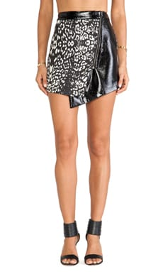 Style Stalker Cats Without Claws Skirt in Leopard