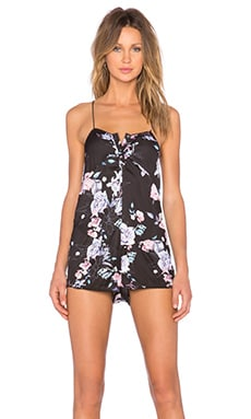 STYLESTALKER Regan Romper in Garden of Eden