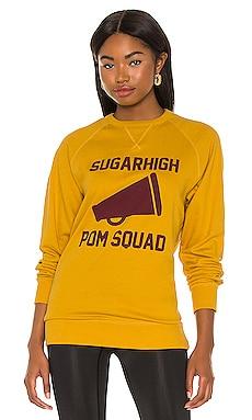 Pom Squad Crew Sweatshirt Sugarhigh Lovestoned $80