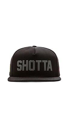 SSUR Shotta Snapback in Black