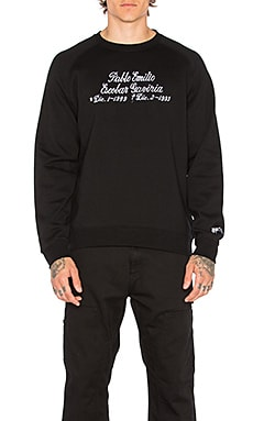 SSUR Grave Crewneck in Black