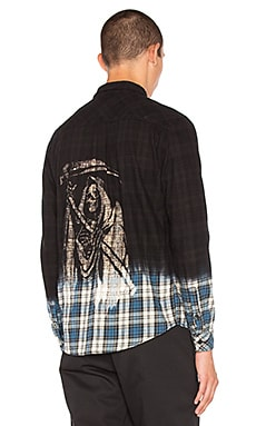 Reaper Flannel Button Down
