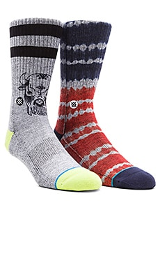 Stance 2-Pack in Double Dip & Foothill