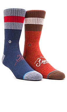 Stance 2-Pack in Sierra & Teton