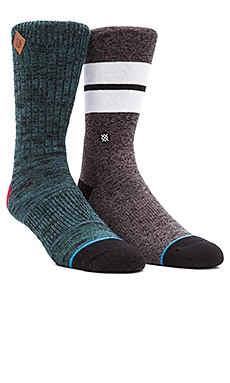 Stance 2-Pack in Sequoia & Modra