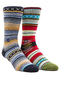Stance 2-Pack in Weaver& Guadalupe