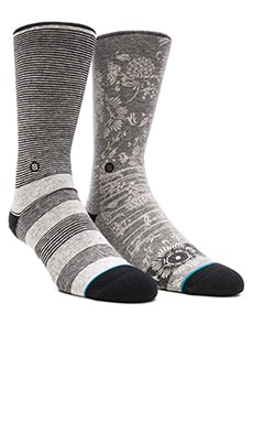 Stance 2-Pack in White & Grey